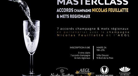 Masterclass : accords champagne Feuillatte & mets régionaux